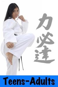 Teens & Adults Karate