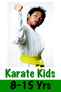 Karate Kids (8-15 yrs)